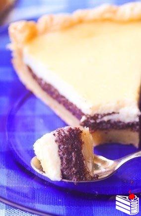 Нежный маковый пирог.