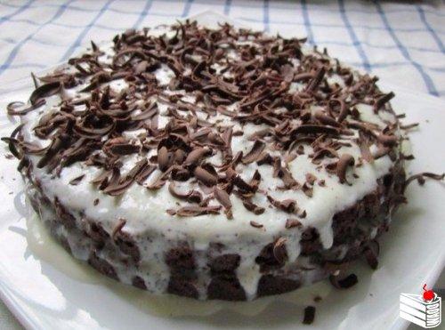 """Шоколадный торт """"Обыкновенное чудо"""""""