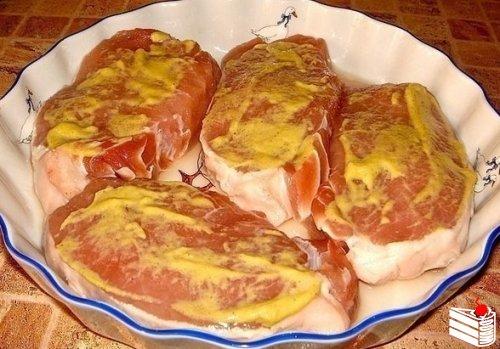 Мясо под шубкой.