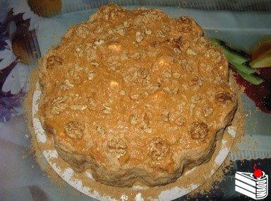 Простой Зефирный Торт (торт без выпечки).