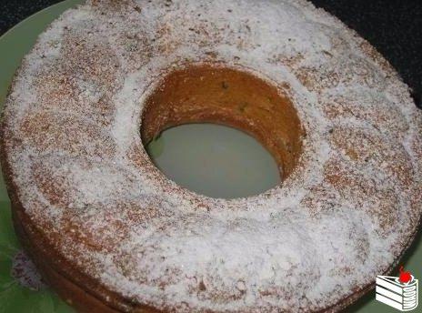 Йогуртовый кекс с черносливом.