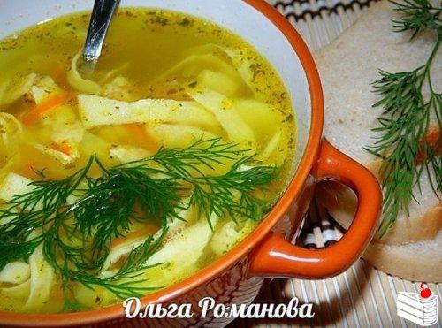 Подборка первых блюд от Ольги Романовой.