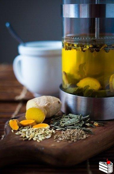Аюрведический детокс-чай.