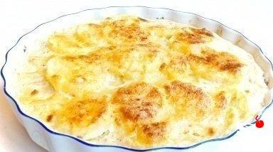 Картофель «дофине».