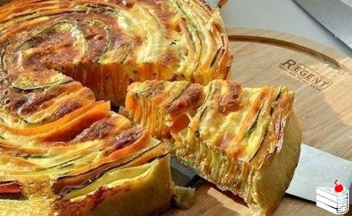 Пирог» Овощная идиллия».