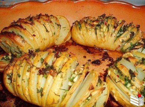 10 вкусных рецептов из картофеля.