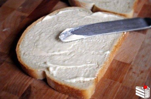 Очень сытный сэндвич.