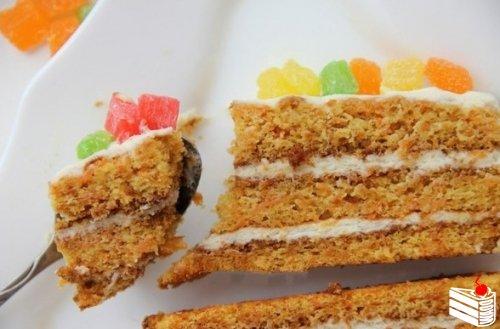 Вкусный морковный торт от Светы Шевчук.