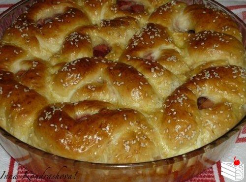 Дрожжевой пирог с ягодами от Инны Кондрашовой