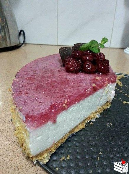 Желейный торт без выпечки (рецепт от подписчицы).