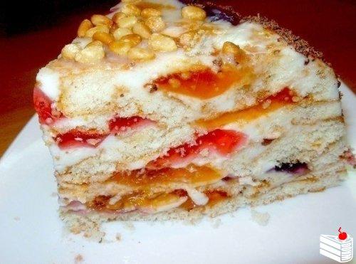 Рецеп торта битое стекло с фото
