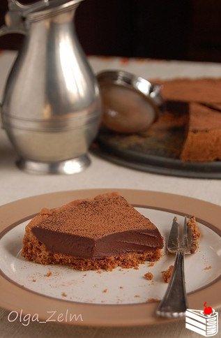 Мексиканский шоколадный тарт.