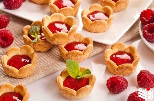 Малиновое печенье.