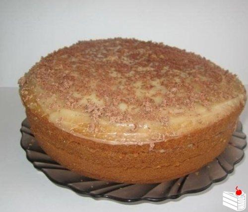 Торт «Рыжик», приготовленный в мультиварке