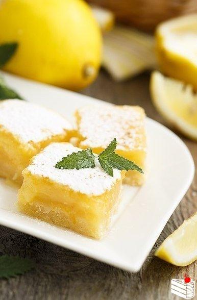 Лимонные квадратики.