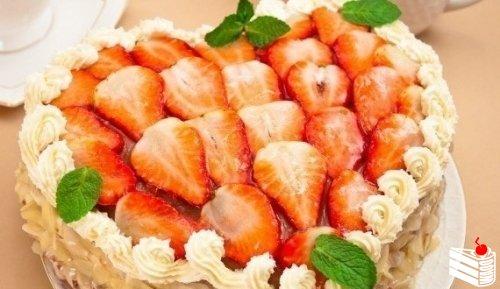 Торт «Сердце» для любимых