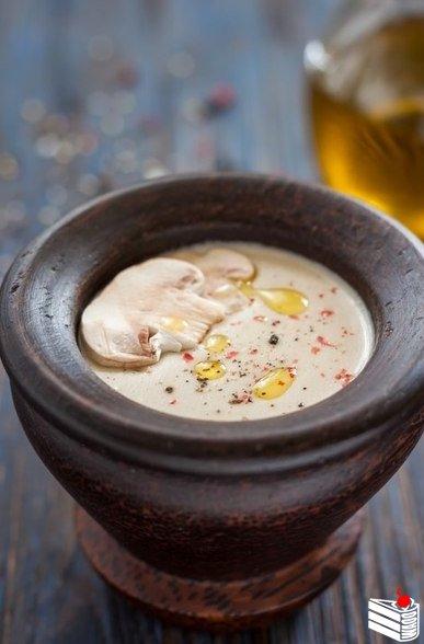 Грибной крем-суп.