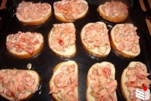Горячие бутерброды на скорую руку.