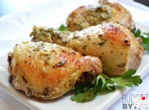 Курица в маринаде по-гречески.