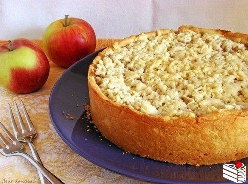 Австралийский яблочный пирог.