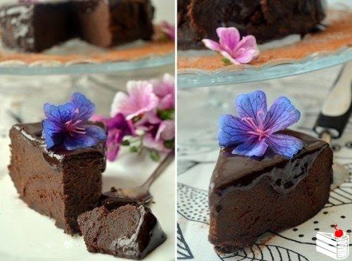 Неординарный шоколадный торт от мамули Дж. Оливера.