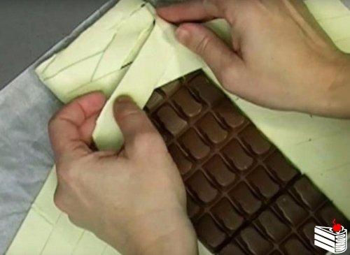 """Невероятно простой десерт """"Шоколадка в тесте"""""""