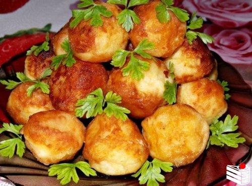 Картофельные шарики