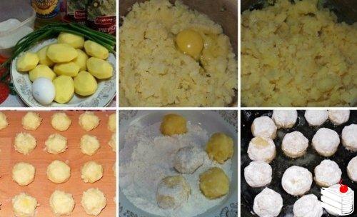 Картофельные шарики — интересное и необычное блюдо, которое может подаваться как самостоятельно, так...