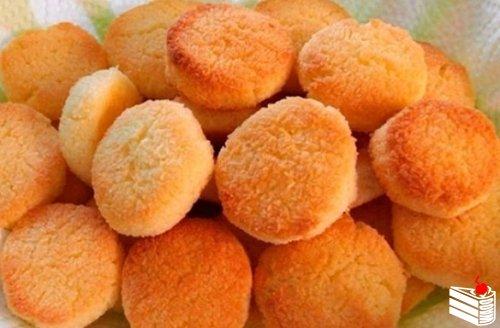 Печенье домашнее на сковороде.