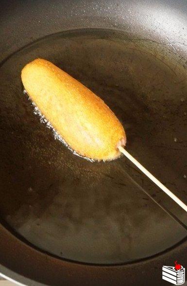Корн Дог (или сосиска в тесте).