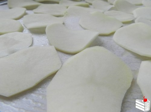 Как приготовить чипсы в микроволновке от Наташи Имшенецкой.