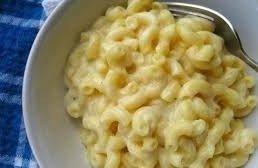 Сырная подлива для макарон.