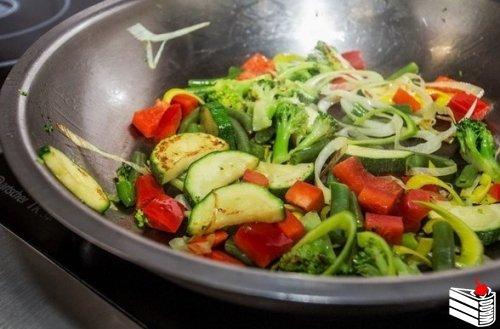 Овощное рагу с картофелем.