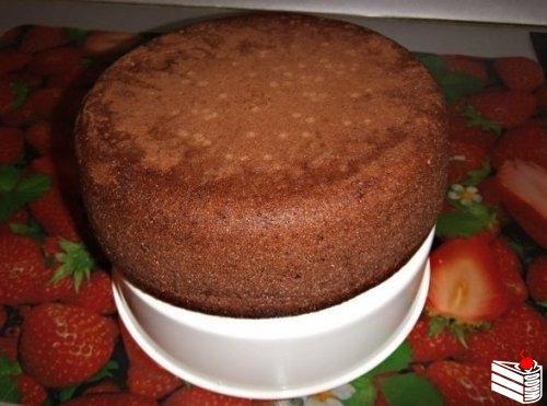 Шоколадное кухэ в мультиварке.