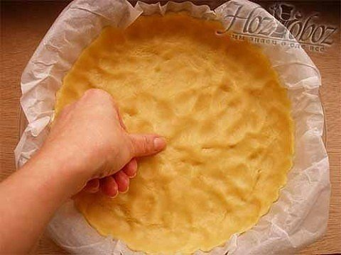 Песочный лимонный пирог.