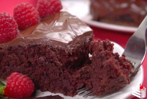 Моментальный шоколадный торт.