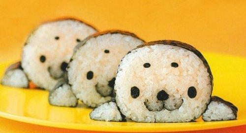 10 оригинальных идей дизайна японских суши и роллов.