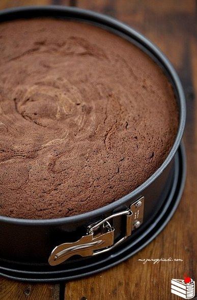 Генуэзский шоколадный бисквит.