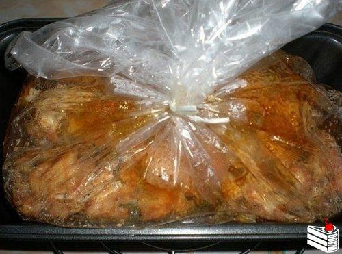Мраморное мясо.