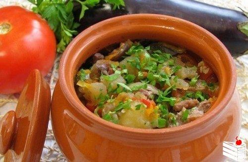 ТОР - 7 Вторые блюда в горшочках.
