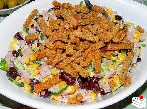 9 вкусных салатиков лёгкого приготовления — это минимум ингредиентов и совсем немного времени на при...