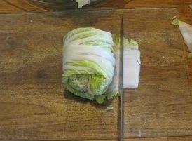 Голубцы из пекинской капусты в духовке.