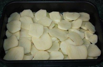 Картошка в сметане.