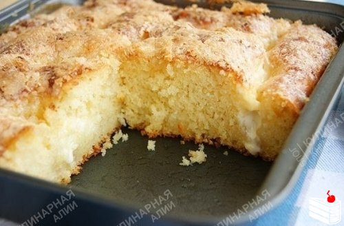 Сахарный пирог.