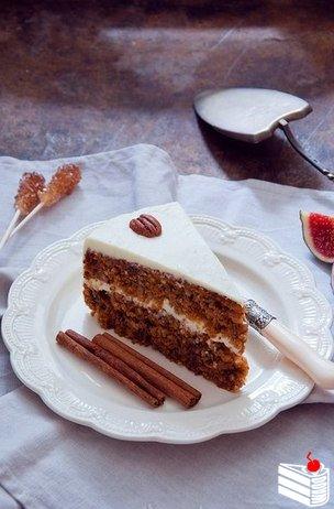 Морковный торт.