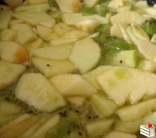 Варенье из киви и яблок
