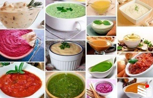 22 соуса на любой вкус. Выбери любимый!