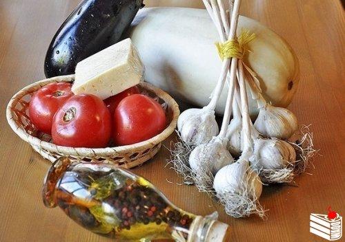 Овощи по-провансальски.