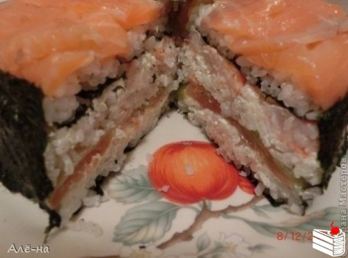 Суши — торт.