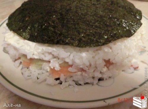 Суши - торт.